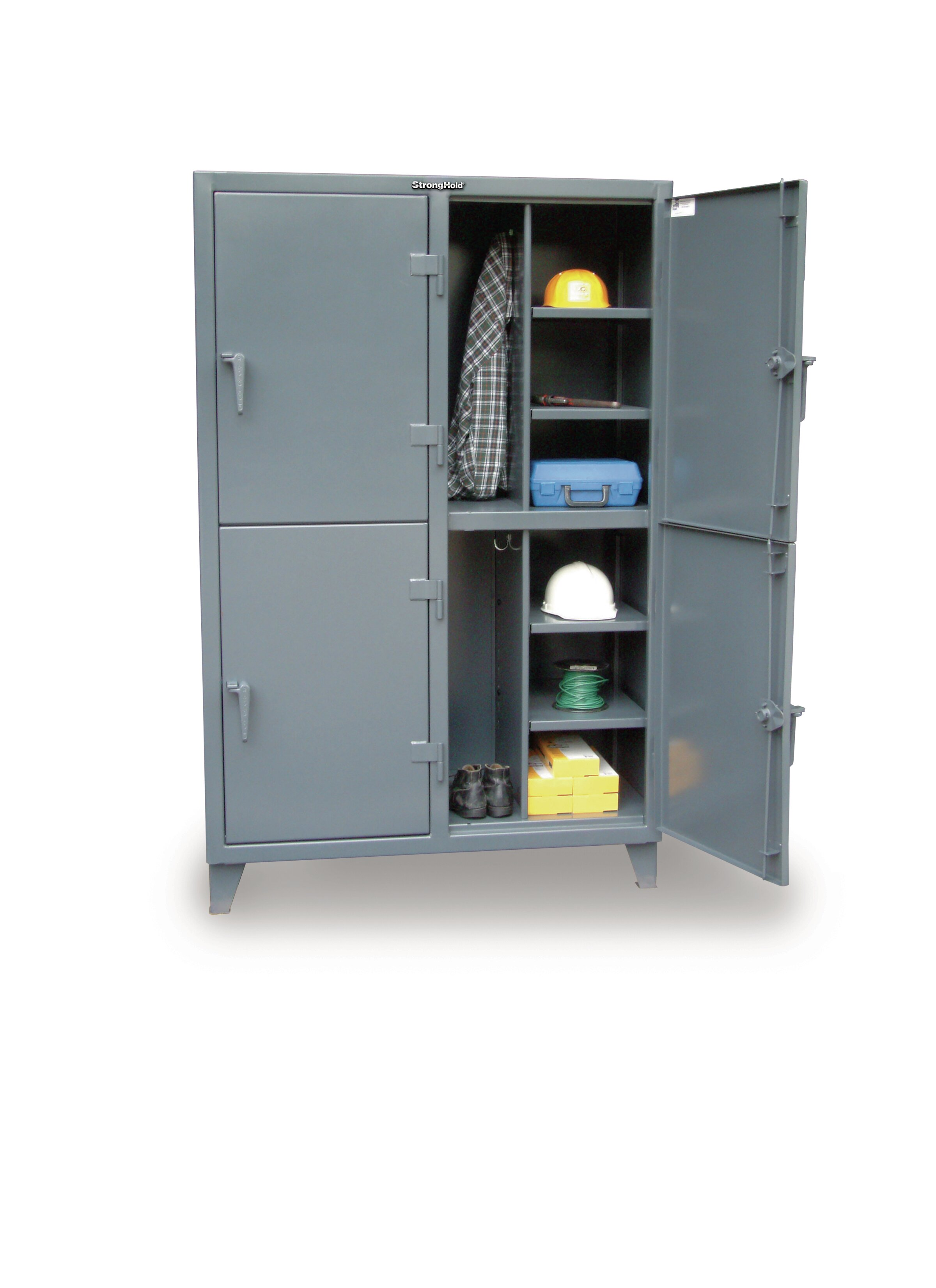 sc 1 st  Wayfair & Strong Hold Products 2 Tier 2 Wide Employee Lockers   Wayfair