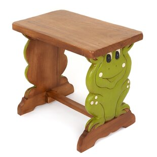Frog Children's Rectangular Side Table by Just Kids