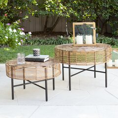 Round Outdoor Side Tables Joss Main