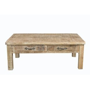 Cummings Square Coffee Table Loon Peak Modern