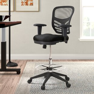 Mesh Drafting Chair by Symple Stuff Best Choices