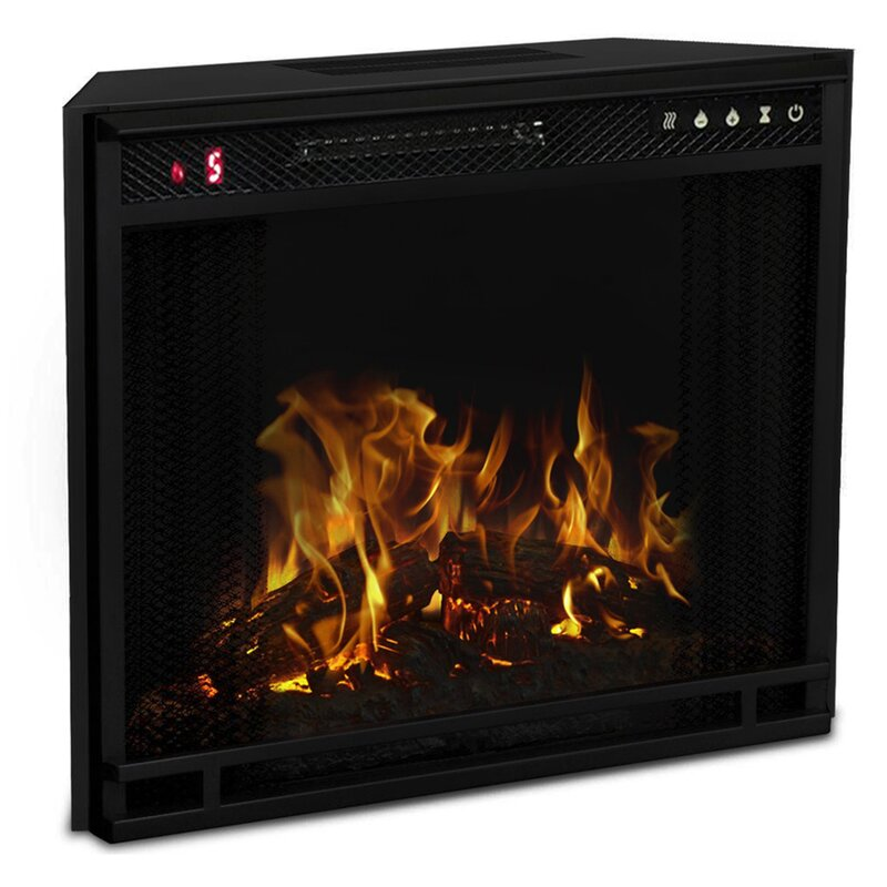 Moda Flame LED Wall Mount Electric Fireplace Insert & Reviews ...