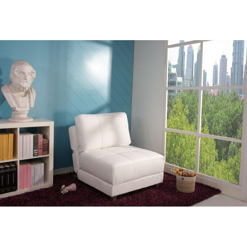 Ebern Designs Hersey 31 5 Wide Convertible Chair Reviews Wayfair
