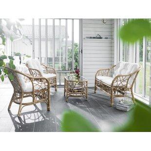 Fårö 4 Seater Rattan Sofa Set By Sol 72 Outdoor