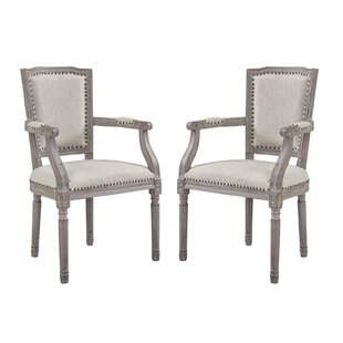 Kathleen Upholstered Dining Chair (Set of 2) by Ophelia & Co.