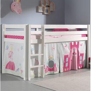 Ethridge European Single Mid Sleeper Bed By Zoomie Kids