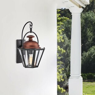 Canora Grey Boyett Outdoor Wall Lantern