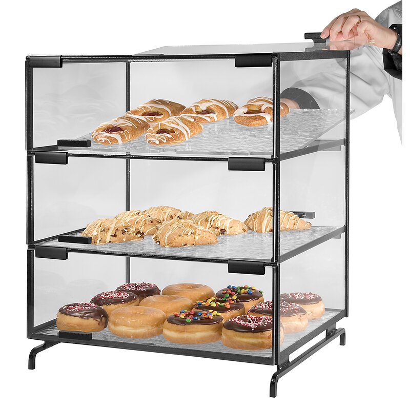 Cal Mil Wire Case With 3 Trays Wayfair