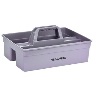 Plastic Cleaning Caddy 3 Compartment Mop Bucket