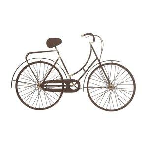 Metal Bicycle Wall Decor metal bicycle decor | wayfair