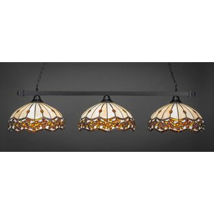 Red Barrel Studio Anzavia 3-Light Billiard Island Pendant