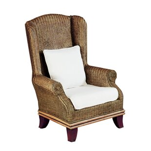 Padmas Plantation Bali Wing back Chair