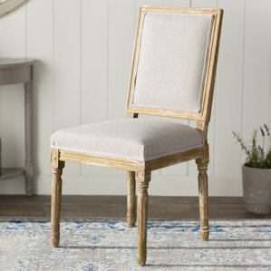 hadrien wood traditional french side chair - Wayfair Dining Chairs