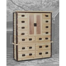 Egremont 14 Drawer Gentleman's Chest by Chelsea Home Furniture