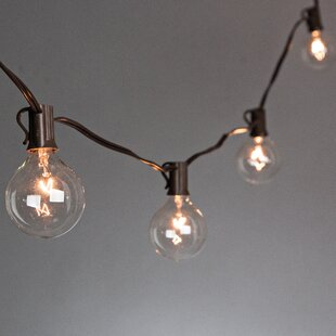Great deal 10-Light 9 ft. Globe String Lights By The Gerson Companies