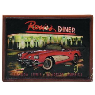 'Corvette' Picture Framed Vintage Advertisement by Winston Porter
