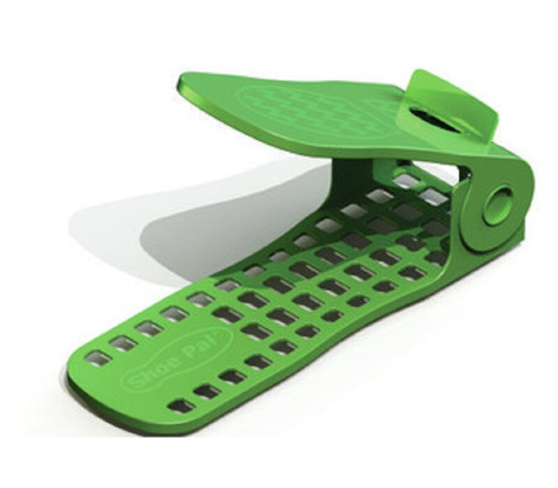 Charmant Adjustable 3D Plastic Shoe Rack