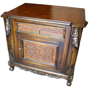 Astoria Grand Porras 1 Drawer Nightstand