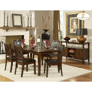 Ramsgate Solid Wood Dining Table by Fleur De Lis Living