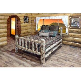 Krol Solid Wood Low Profile Platform Standard Bed