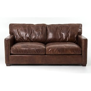 Grandfield Espresso Leather Sofa