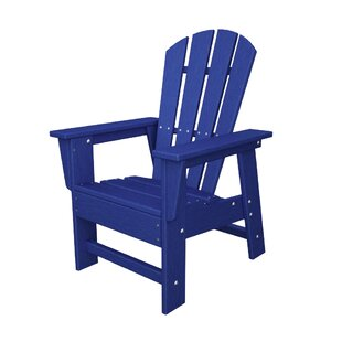 Kid's Plastic Adirondack Chair