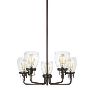 Trent Austin Design Panorama Point 5-Light Candle Style Chandelier