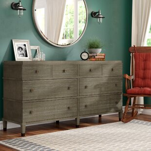 Renita 8 Drawer Double Dresser