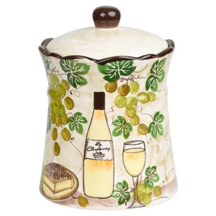 Grape Ceramic 2.35 qt. Cookie Jar