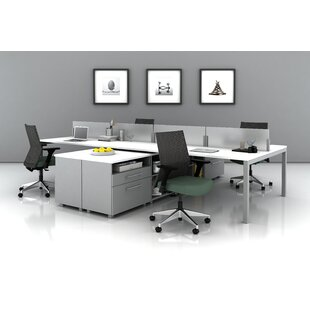 Trendway Trig Teaming Desk Office Suite