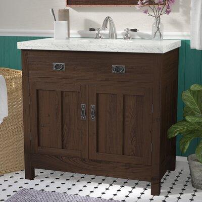 Alcott Hill Nielsen Single Bathroom Vanity Set With Granite - Bathroom vanities gainesville fl