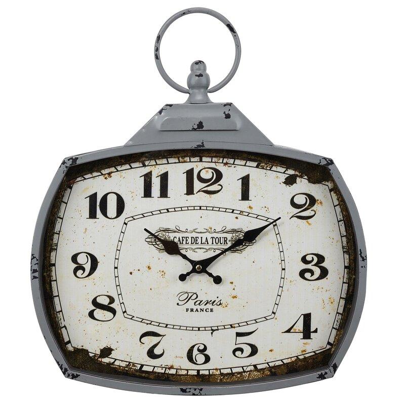 Ophelia Co Gwendolyn Wall Clock Wayfair