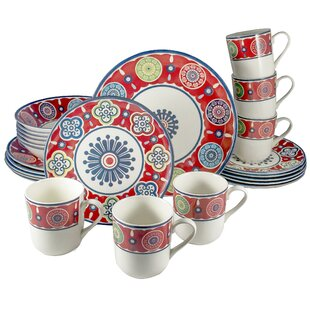 Royal Oriental 24 Piece Dinnerware Set, Service for 6