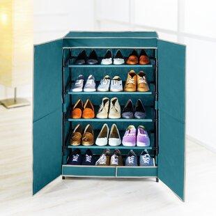 Breeze 20 Pair Shoe Storage Cabinet By Rebrilliant