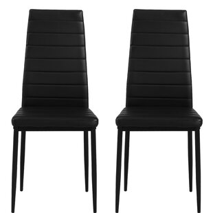 Fusco Parsons Upholstered Dining Chair (Set of 2)