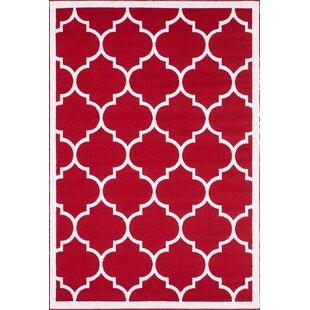 Eastlawn Trendy Red Rug
