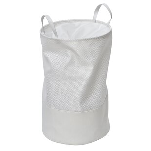 Pop-Up Collapsible Laundry Hamper with Closing Mesh By Evideco