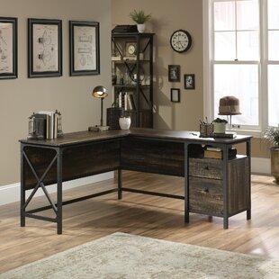 Williston Forge Ulibarri L-Shape Desk