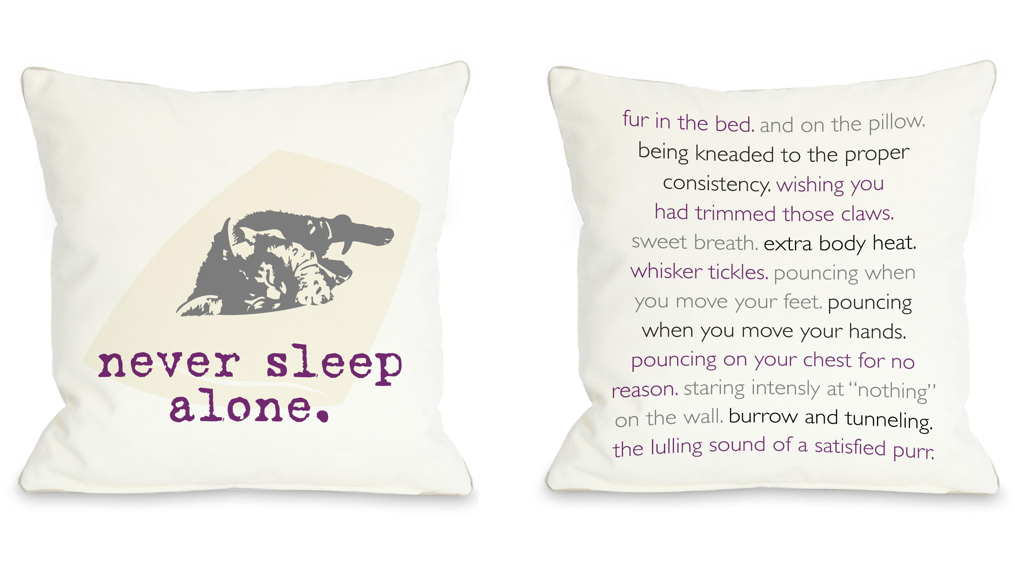 Christmas Cat Pillows | Wayfair