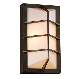 Ebern Designs Kirkby 1-Light Outdoor Flush Mount
