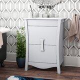 Karter Modern Wood Floor Mount 24 Single Bathroom Vanity Set by Ebern Designs