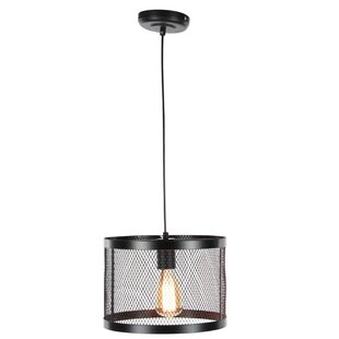 Williston Forge Hoang 1-Light Drum Pendant