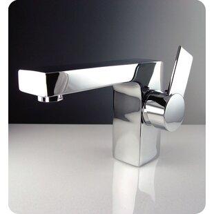 Fresca Isarus Single Hole Mount Bathroom Faucet in Chrome