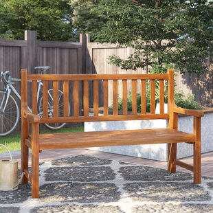 Wooden Bench By Natur Pur