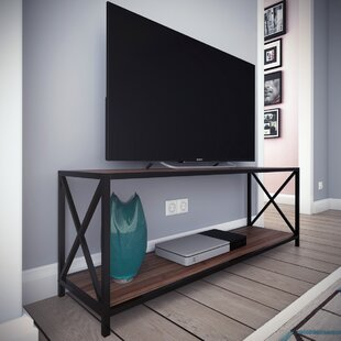 Reviews Altom X-Frame Metal Industrial TV Stand for TVs up to 60 by Williston Forge Reviews (2019) & Buyer's Guide