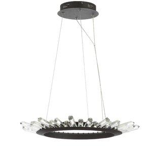 Ella LED Crystal Pendant by Mercer41