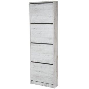 Burney 16 Pair Shoe Storage Cabinet By Mercury Row