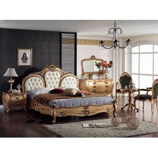 Elwell Queen Panel 5 Piece Bedroom Set