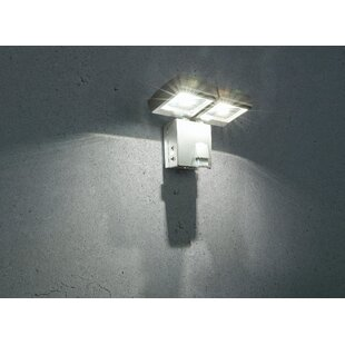 Solar 2 Head LED Outdoor Floodlight Image