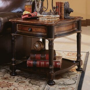 Affordable Preston Ridge End Table with Storage ByHooker Furniture